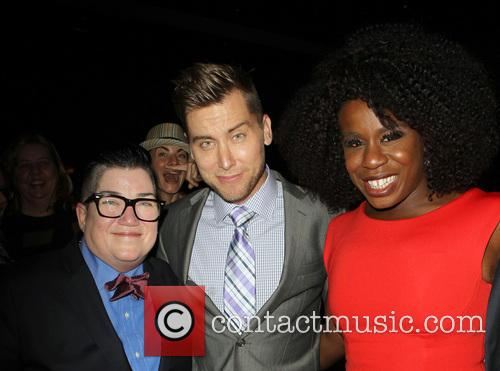 Lea Delaria, Lance Bass and Uzo Aduba 10