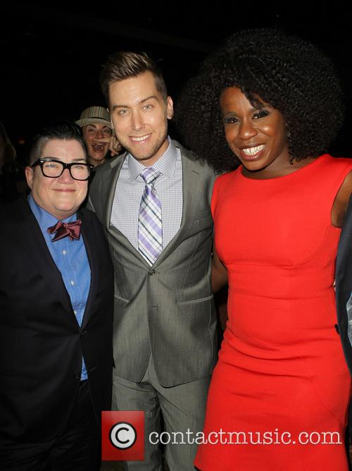 Lea Delaria, Lance Bass and Uzo Aduba 11