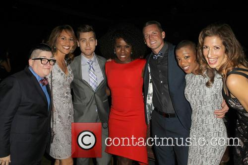Lea Delaria, Michelle Bonilla, Lance Bass, Uzo Aduba and Samira Wiley 6