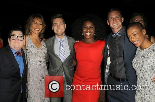 Lea Delaria, Michelle Bonilla, Lance Bass, Uzo Aduba and Samira Wiley 8