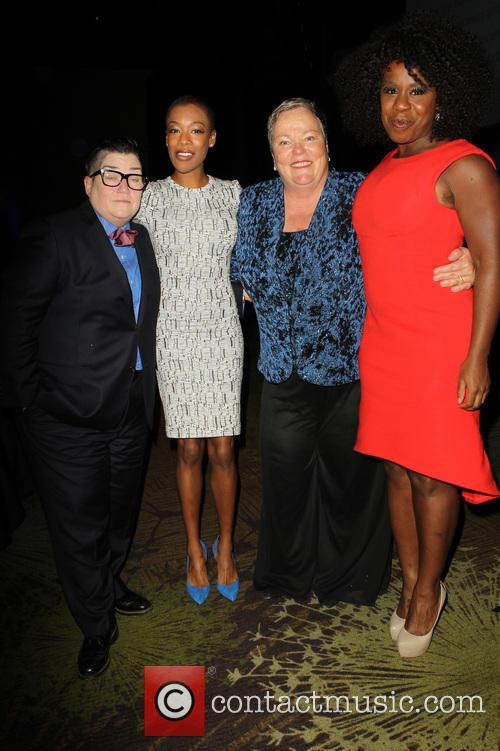 Lea Delaria, Samira Wiley, Lori Jean and Uzo Aduba 2
