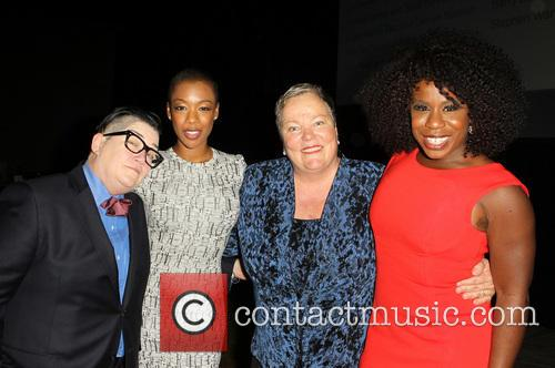 Lea Delaria, Samira Wiley, Lori Jean and Uzo Aduba 3