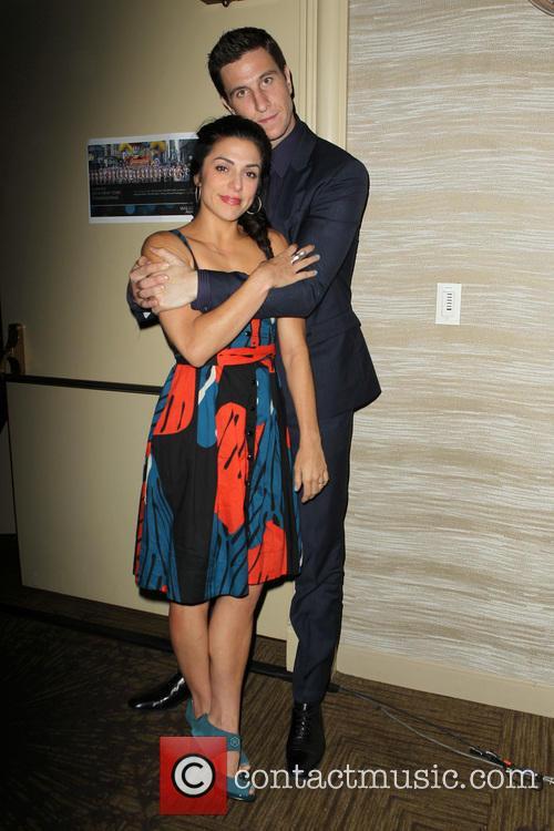 Pablo Schreiber and Jessica Monty 3