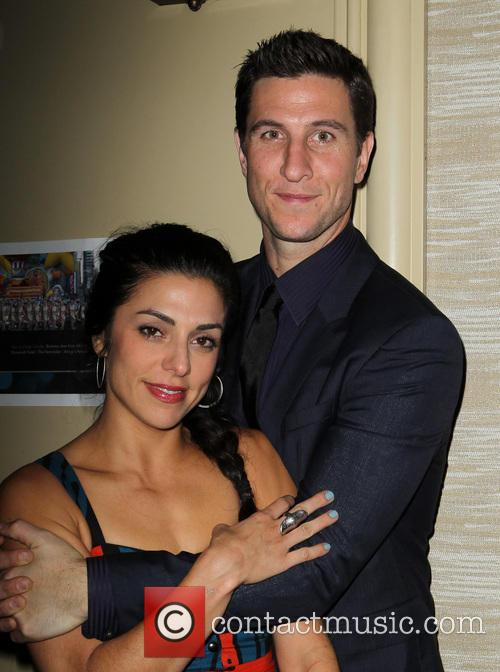 Pablo Schreiber and Jessica Monty 1