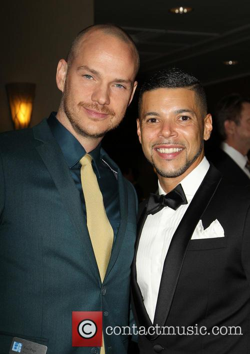 Peter Paige and Wilson Cruz 8