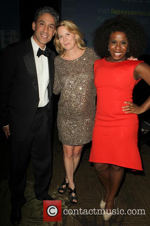 Ron, Laurel Holloman and Uzo Aduba 1
