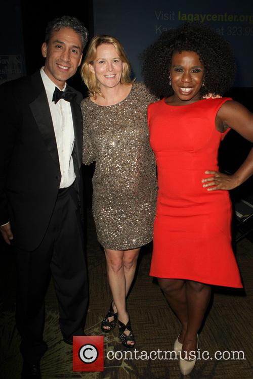 Ron, Laurel Holloman and Uzo Aduba 2