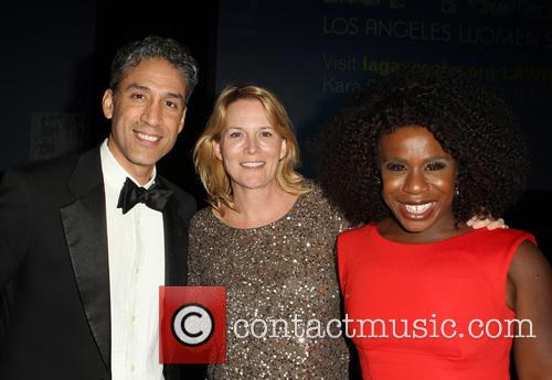 Ron, Laurel Holloman and Uzo Aduba 3