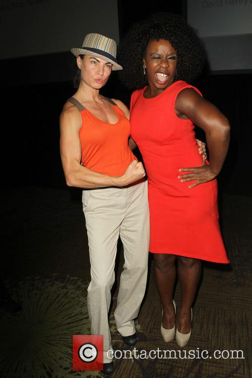 Traci Dinwiddie and Uzo Aduba 6