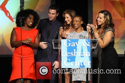 Uzo Aduba, Pablo Schreiber, Alysia Reiner, Samira Wiley, Dascha Polanco and Lea Delaria 2