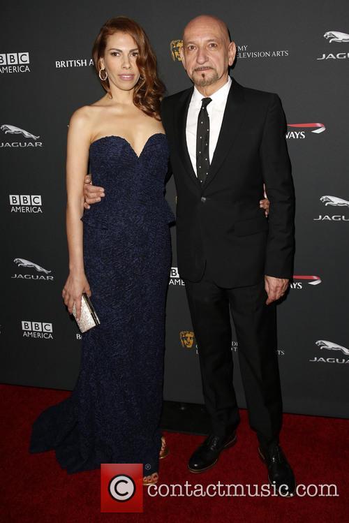 Daniela Lavender and Sir Ben Kingsley 3