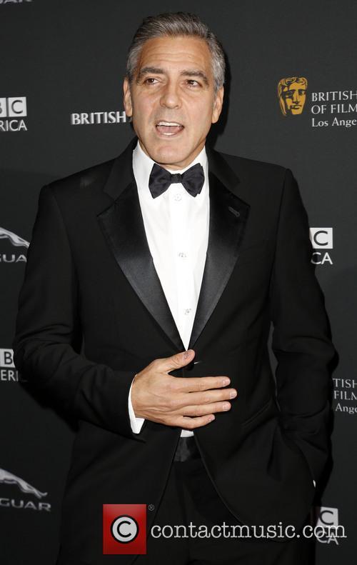 George Clooney BAFTA