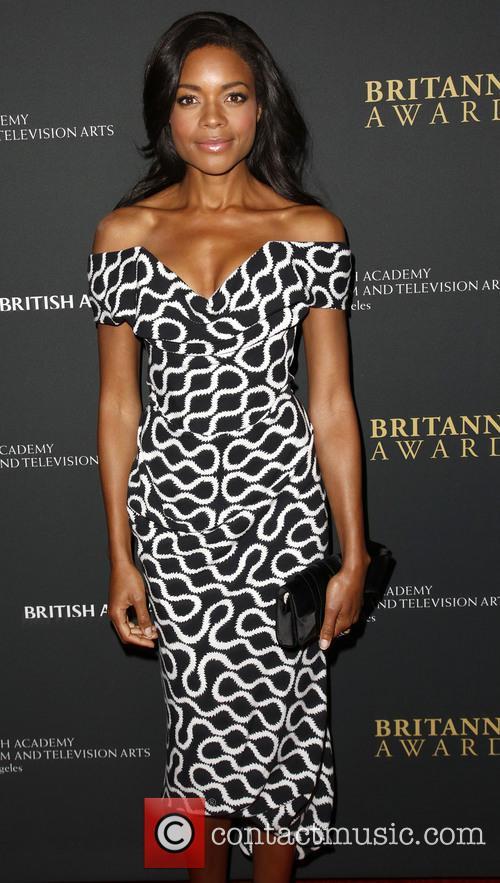 Naomie Harris, The Beverly Hilton Hotel, Beverly Hilton Hotel