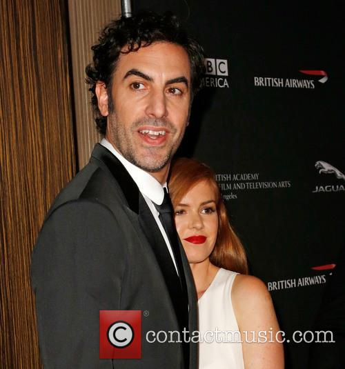 Sacha Baron Cohen and Isla Fisher 9