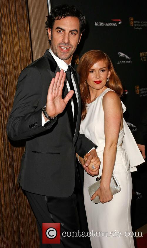 Sacha Baron Cohen and Isla Fisher 10