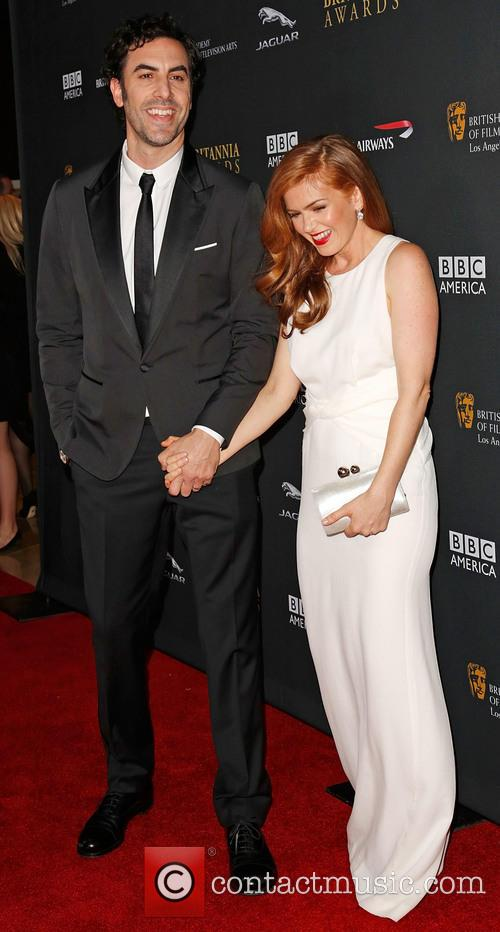 Sacha Baron Cohen and Isla Fisher 11