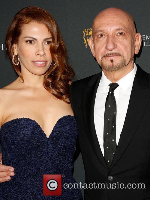 Daniela Lavender and Sir Ben Kingsley 1