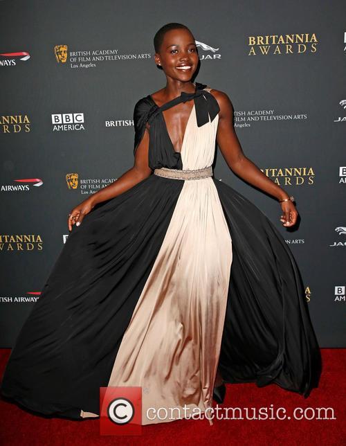 Lupita Nyong'o 2013 BAFTA