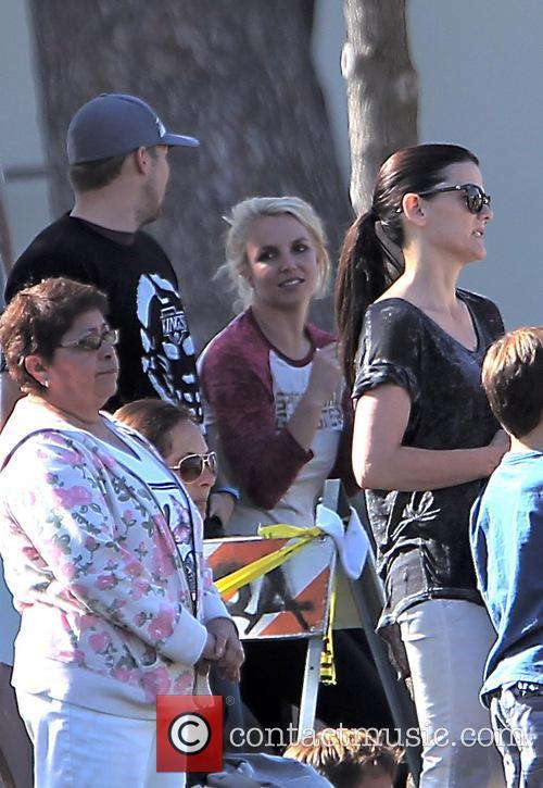 Britney Spears and David Lucado 9