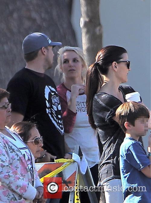 Britney Spears and David Lucado 11