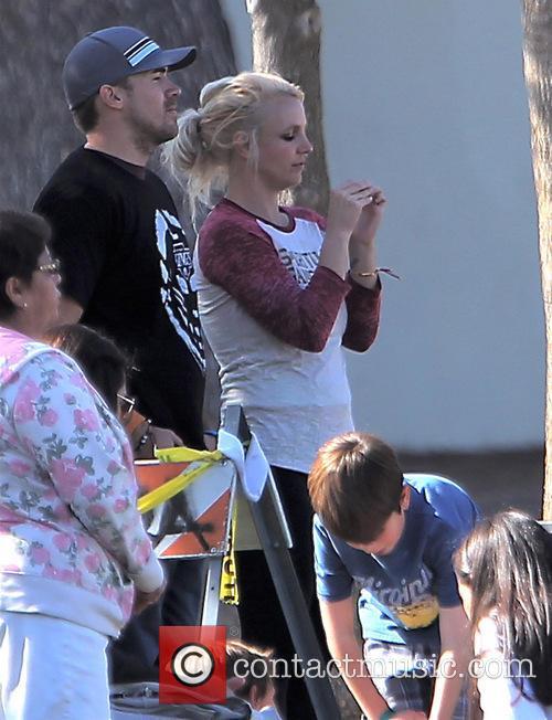 Britney Spears and David Lucado 12