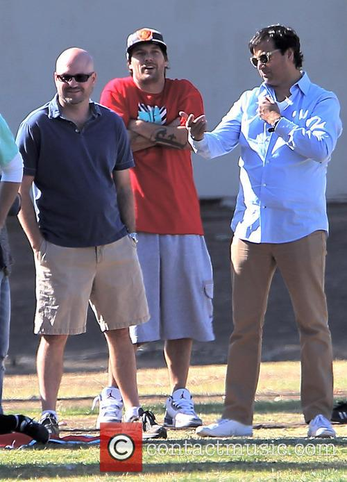 Britney Spears watches her son's soccer game