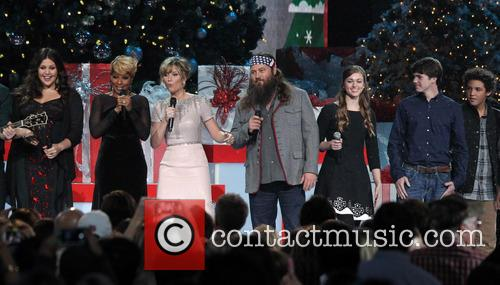 Hillary Scott, Mary J. Blige, Jennifer Nettles, Willie Robertson, Bridgestone Arena