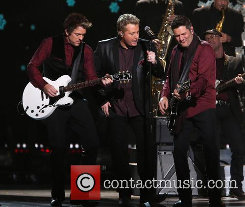 Rascal Flatts, Joe Don Rooney, Gary LeVox and Jay DeMarcus 5