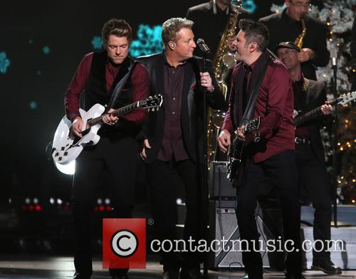 Rascal Flatts, Joe Don Rooney, Gary LeVox and Jay DeMarcus 6