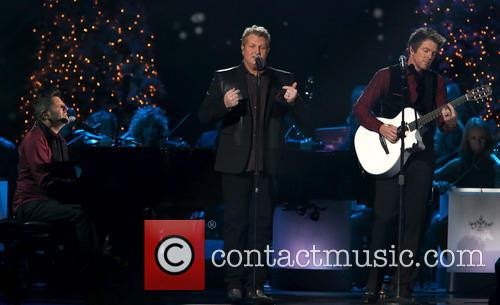 Rascal Flatts, Joe Don Rooney, Gary LeVox and Jay DeMarcus 1