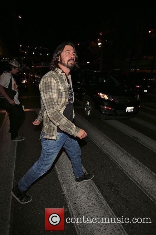 Dave Grohl  enjoys being in Los Angeles after leaving LAX