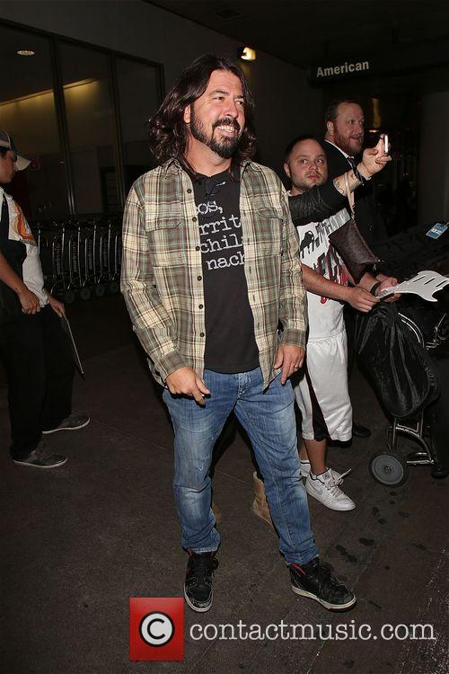 Dave Grohl  enjoys being in Los Angeles...