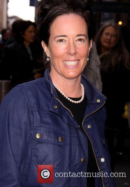 Kate Spade arrives for Mamma Mia show