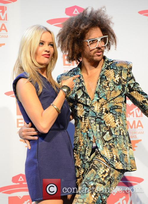 Laura Whitmore and Redfoo 3