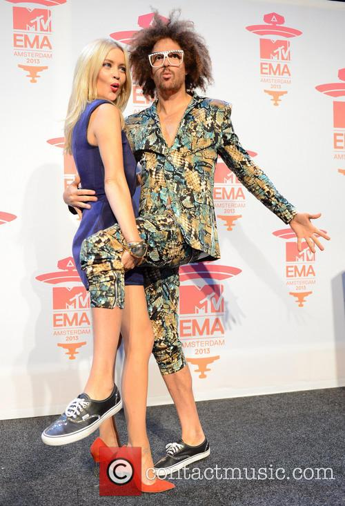 Laura Whitmore and Redfoo 1