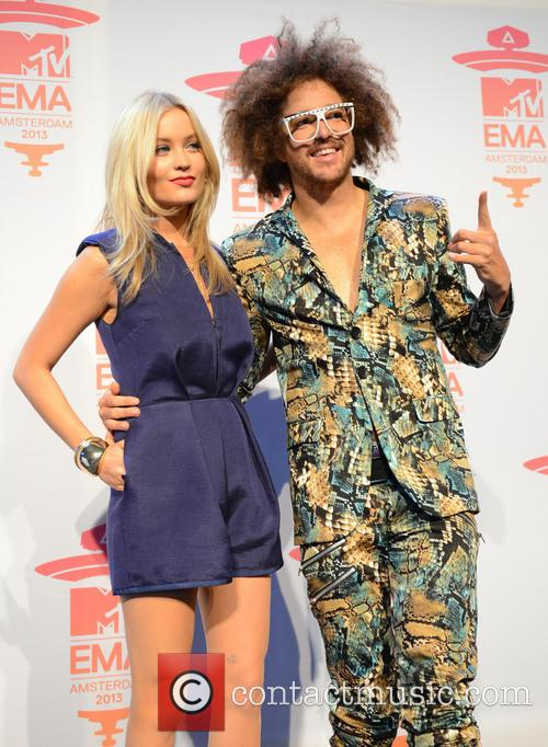 Laura Whitmore and Redfoo 4
