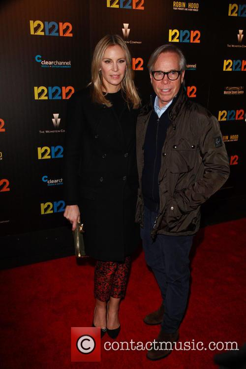 Dee Ocleppo and Tommy Hilfiger 1