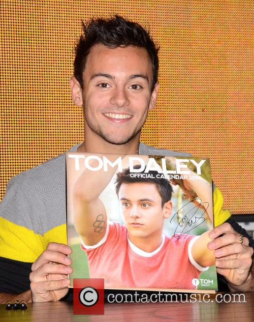 Tom Daley Calendar Signing