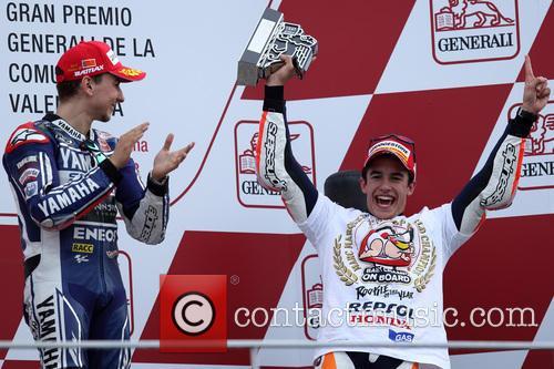 Valencia and Marc Marquez 1