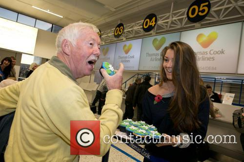 Corrie's Brooke Vincent Helps Thomas Cook's Inaugural Flight...