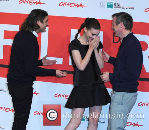 Rooney Mara, Joaquin Phoenix and Spike Jonze