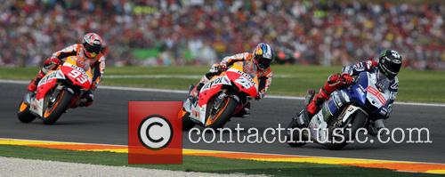 Valencia, Jorge Lorenzo, Dani Pedrosa and Marc Marquez 5