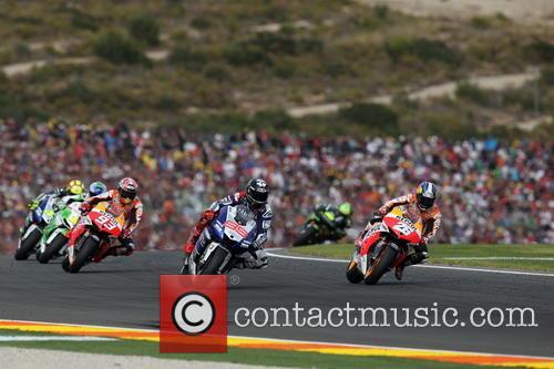 Valencia, Jorge Lorenzo, Dani Pedrosa and Marc Marquez 11