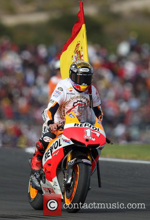 Valencia and Marc Marquez 1