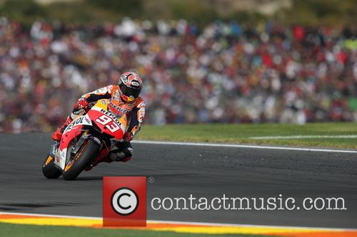 Valencia and Marc MARQUEZ 13