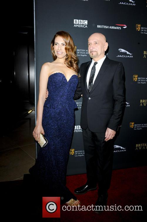 Ben Kingsley and Daniela Lavender 3