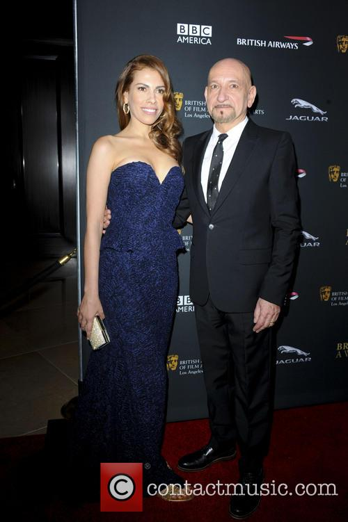Ben Kingsley and Daniela Lavender 1
