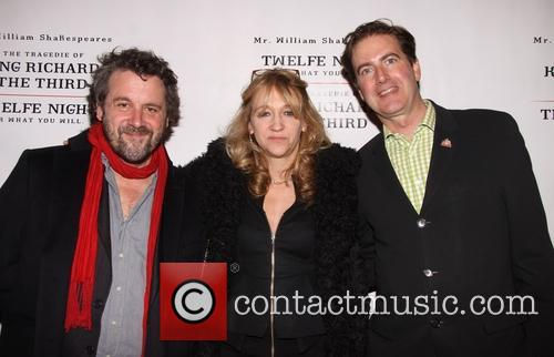 Dominic Dromgoole, Sonia Friedman and Neil Constable 2