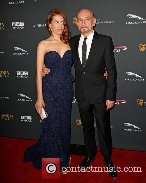Daniela Lavender and Sir Ben Kingsley 2