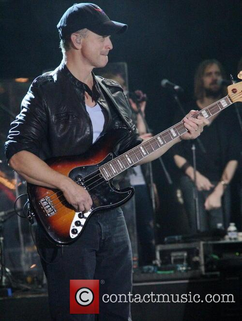 Gary Sinise and the Lieutenant Dan Band perform...